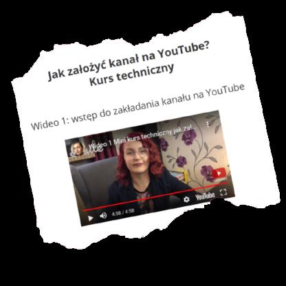 kurs jak założyć kanał na YouTube dla Początkujących